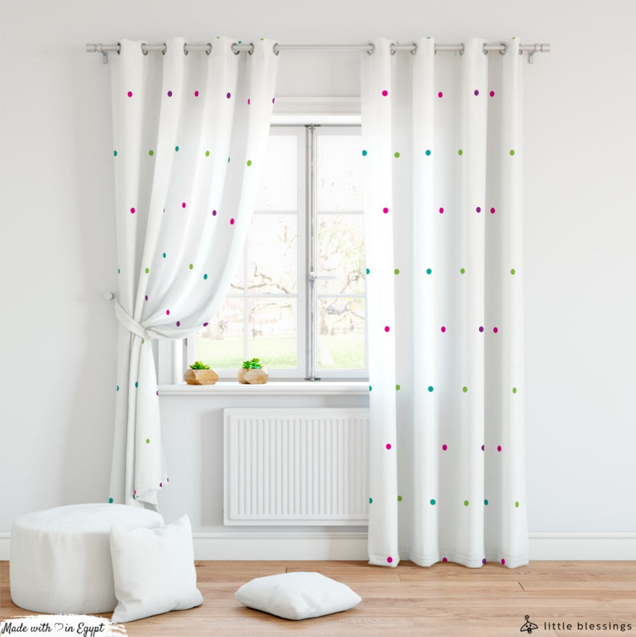 Sparkling Circles Curtain