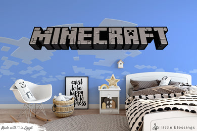 Minecraft Wallpaper (Blue)