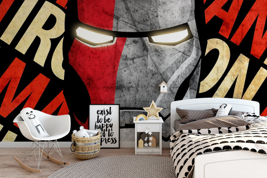 Iron Man Bed Set