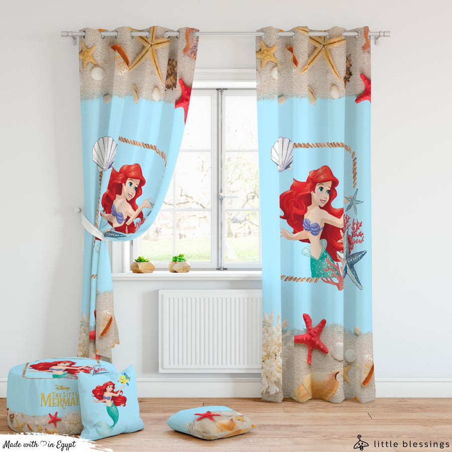 The Little Mermaid Curtains