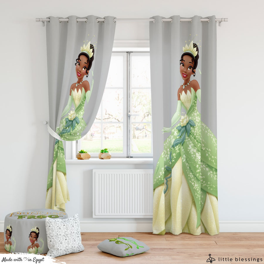 Princess Frog Curtains