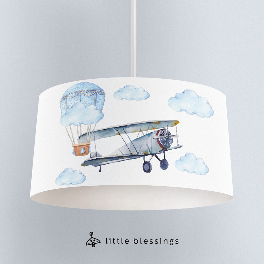 Watercolour Airplane Lighting