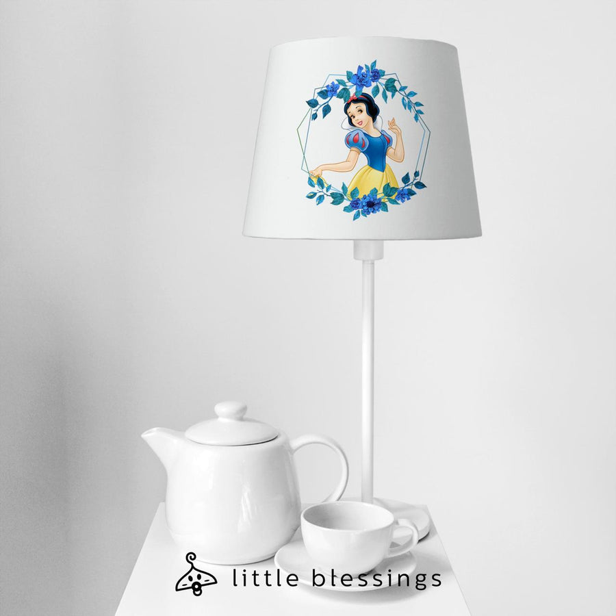 Snowy White Bedside Lamp