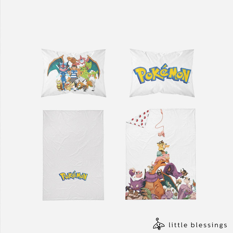 Pokémon (NEW 1) Bed Set
