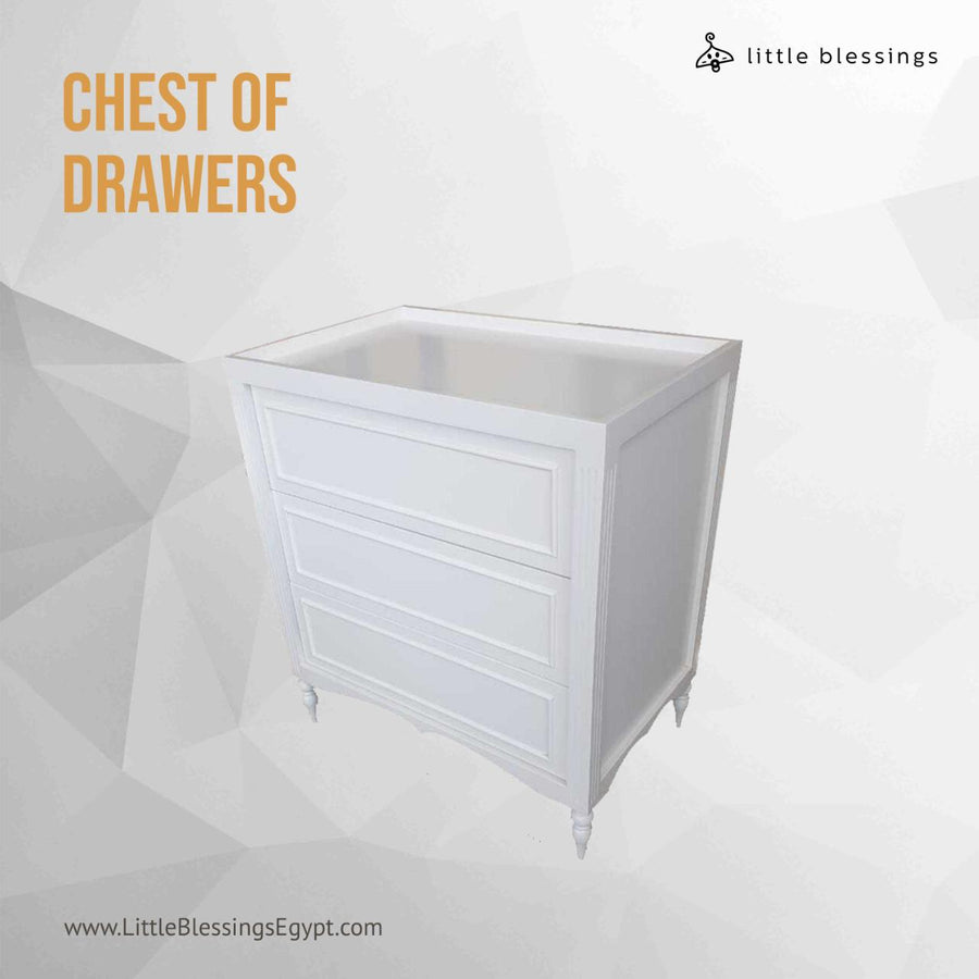 Royal Baby Chest of Drawers and Changing Table