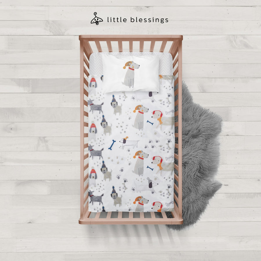 Puppies Baby Bed Set
