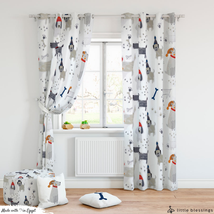 Puppies Curtain
