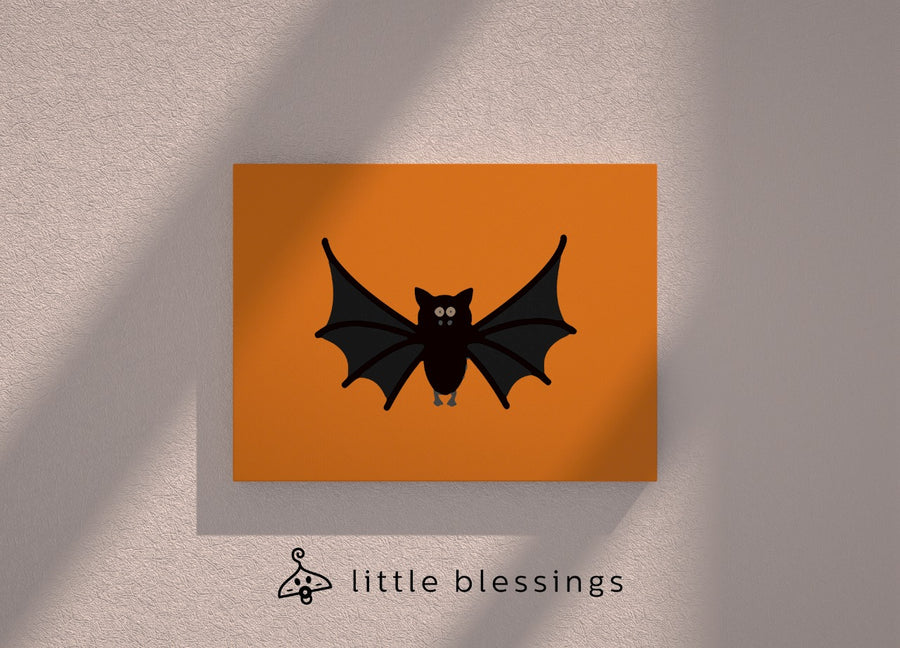 Halloween 2020 Canvas (Bat)