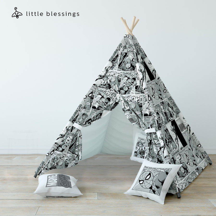 Black And White Marvel Teepee
