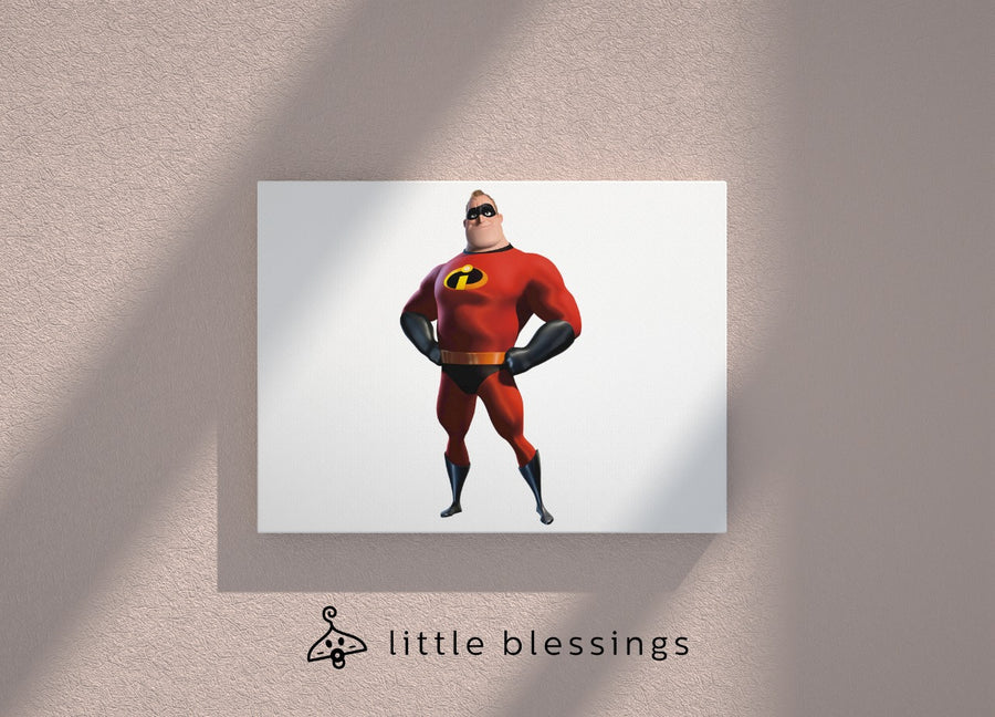 Incredibles Canvas (Mr. Incredible)