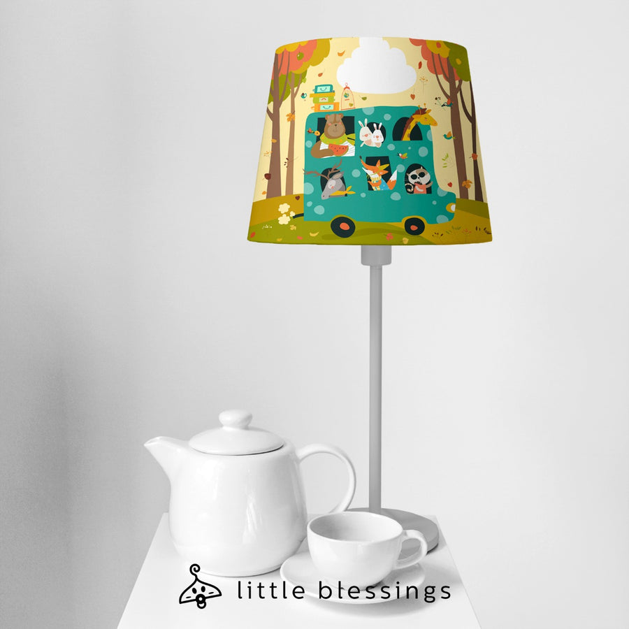 Animals Bus Bedside Lamp