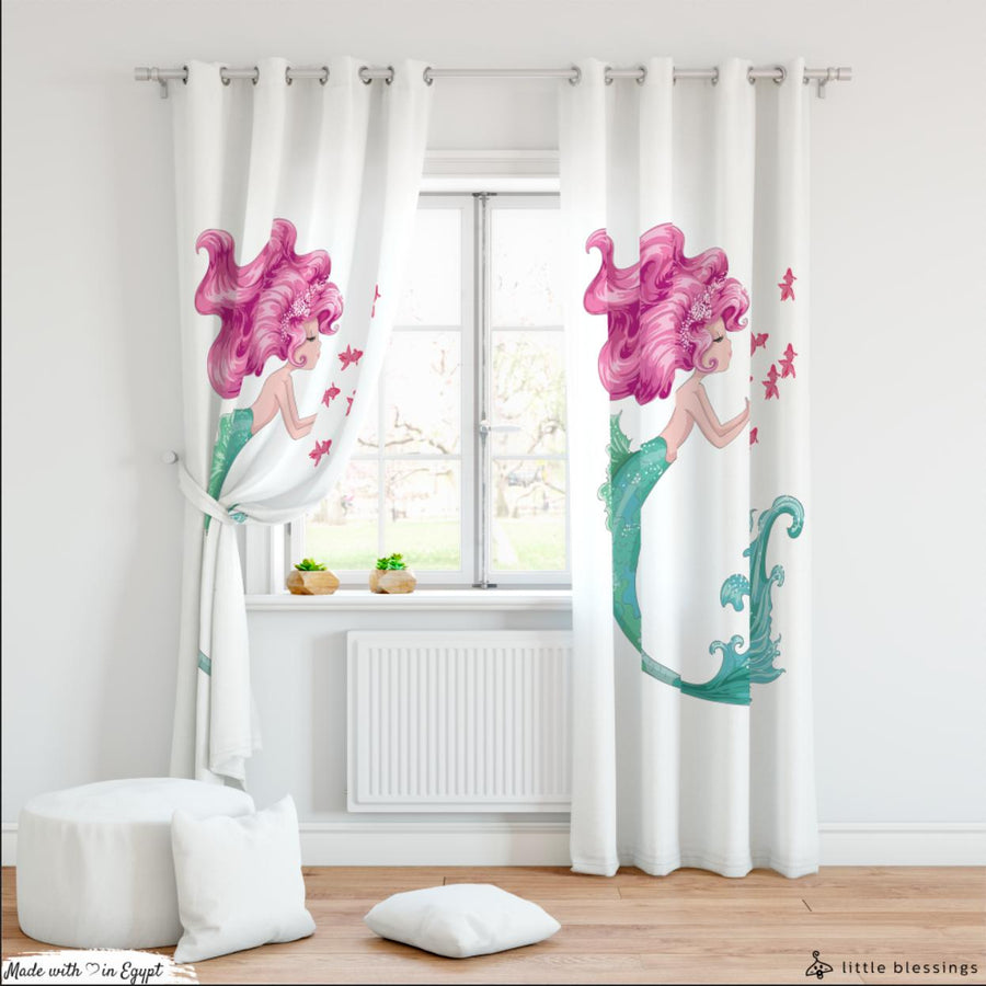 Mermaid Love Curtain (Fun With Flower)