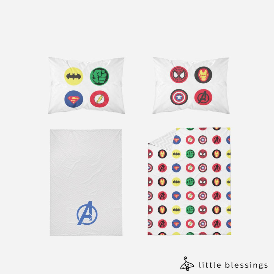 All in One Super Heros Bed Set