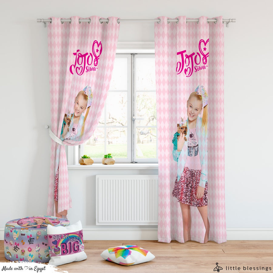 Jojo Siwa Curtain