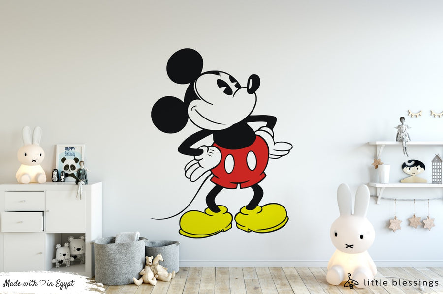 Vintage Mickey Mouse Wallpaper