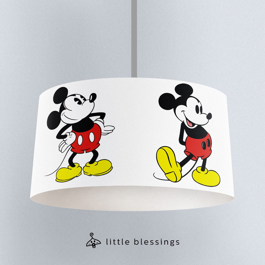 Vintage Mickey Mouse Ceiling Lighting