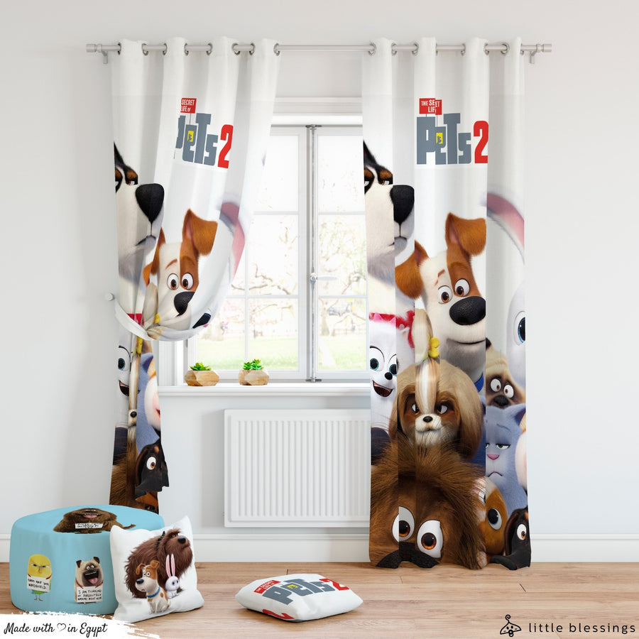 The Secret Life of Pets Curtain
