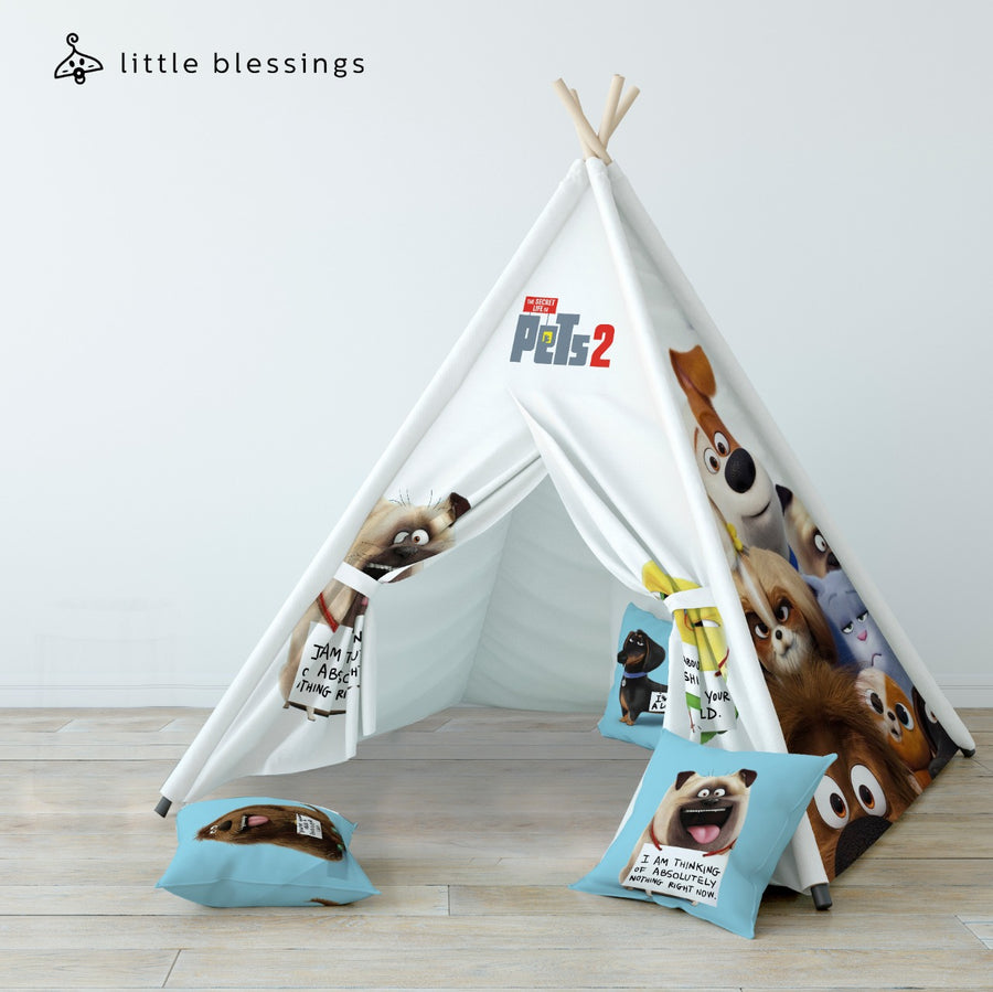 The Secret Life of Pets Teepee