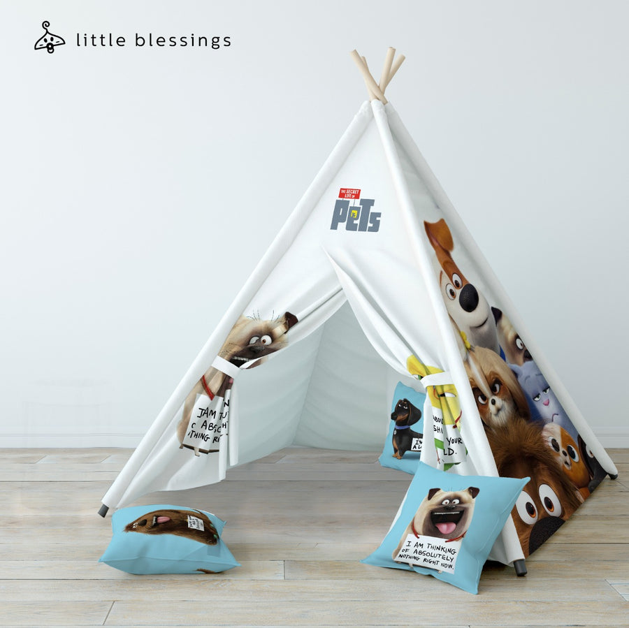 The Secret Life of Pets Teepee (Happy Faces)
