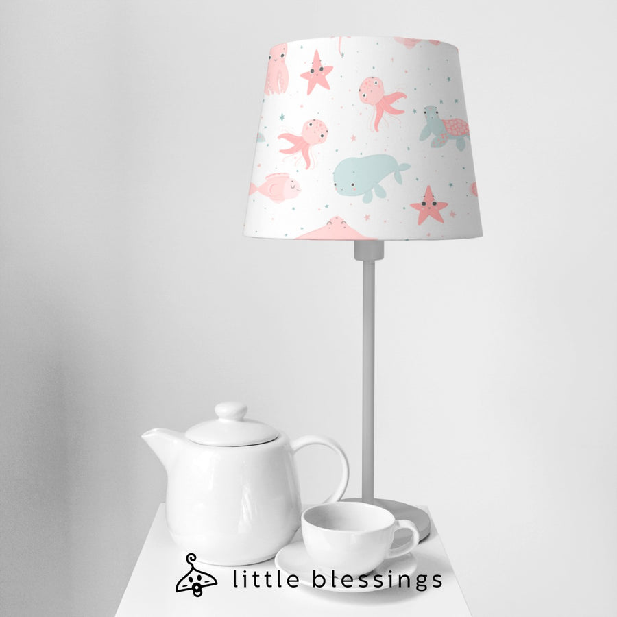The Whale and the Sea Horse Bedside Lamp