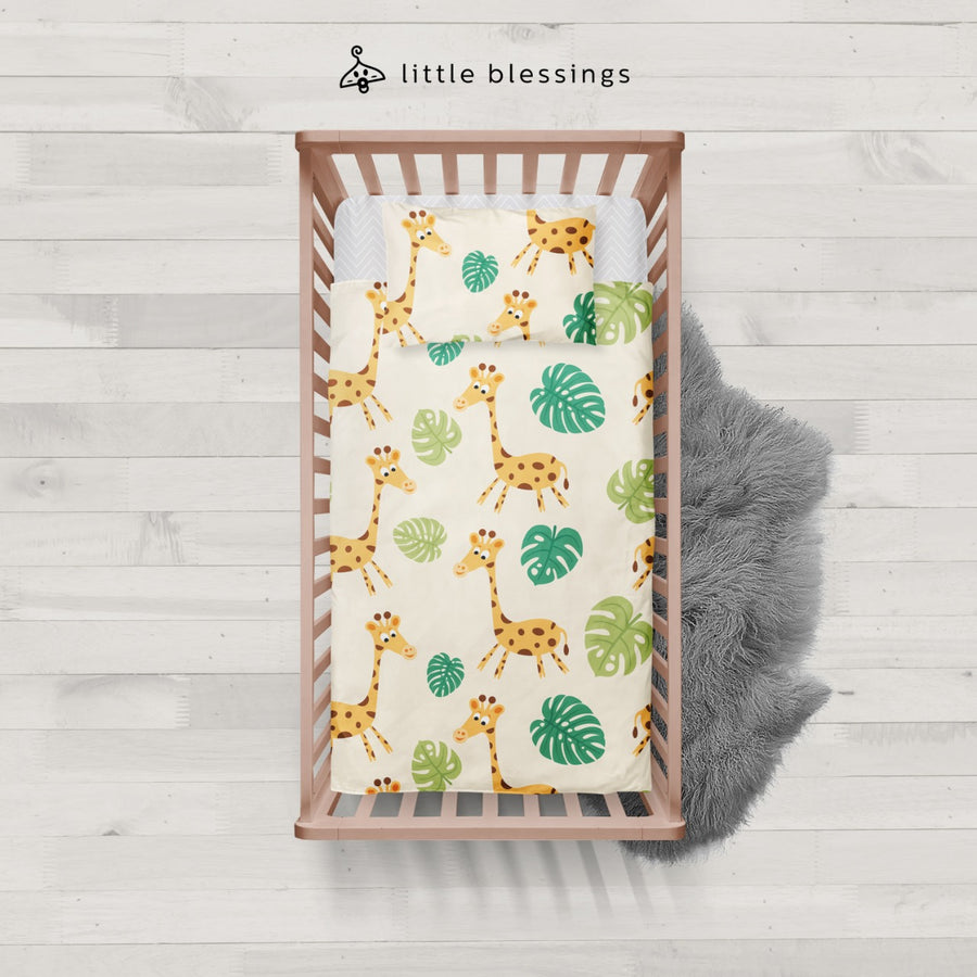 Giraffe Room Baby Bed Set