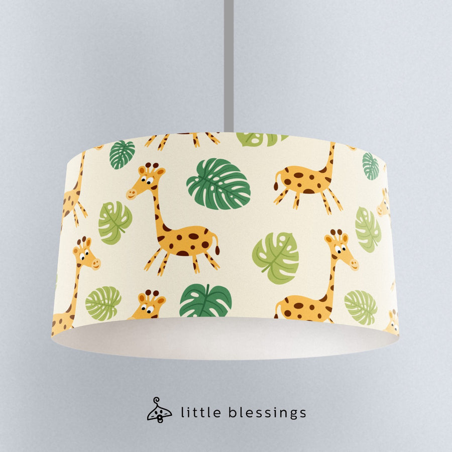 Giraffe Room Ceiling Lighting