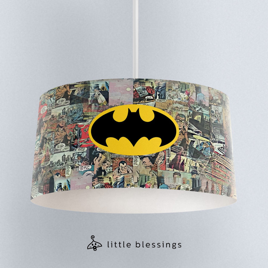 Batman Comic Books Ceiling Lighting