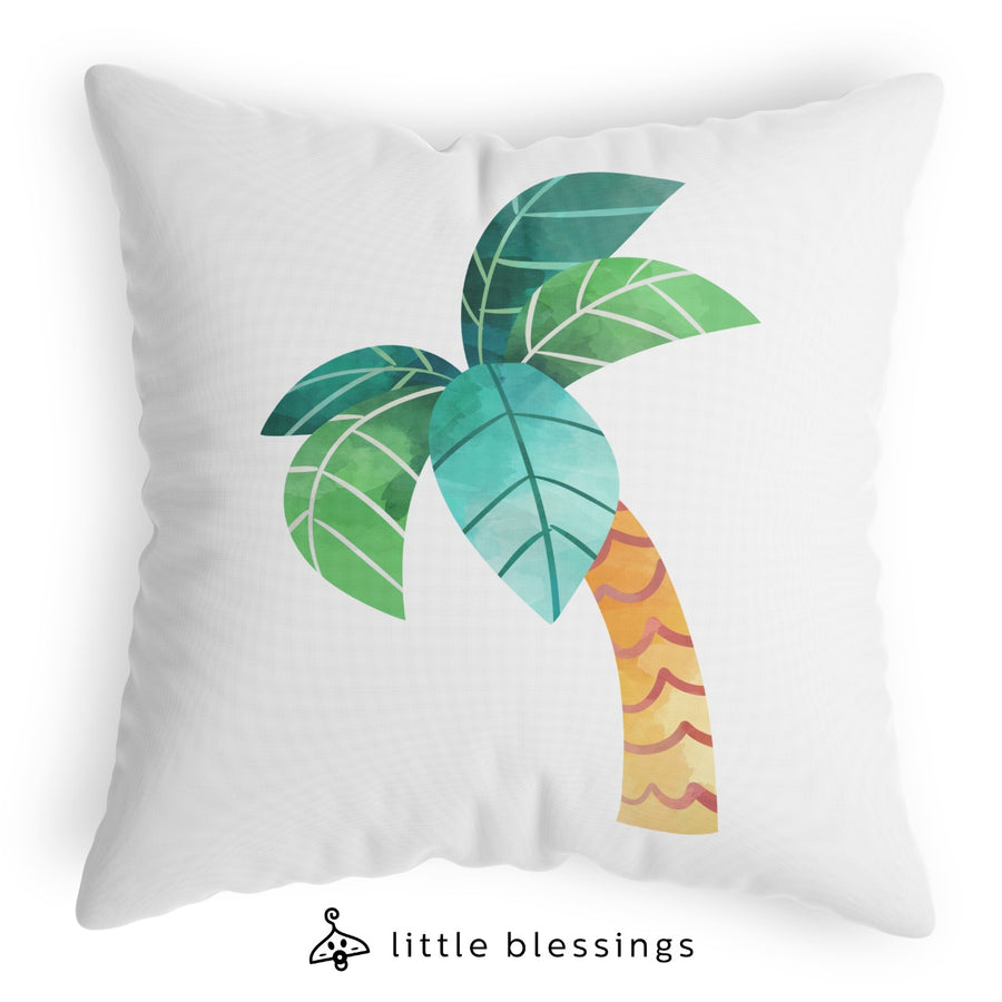 Forest Dinosaurs Cushion (Palm Tree)
