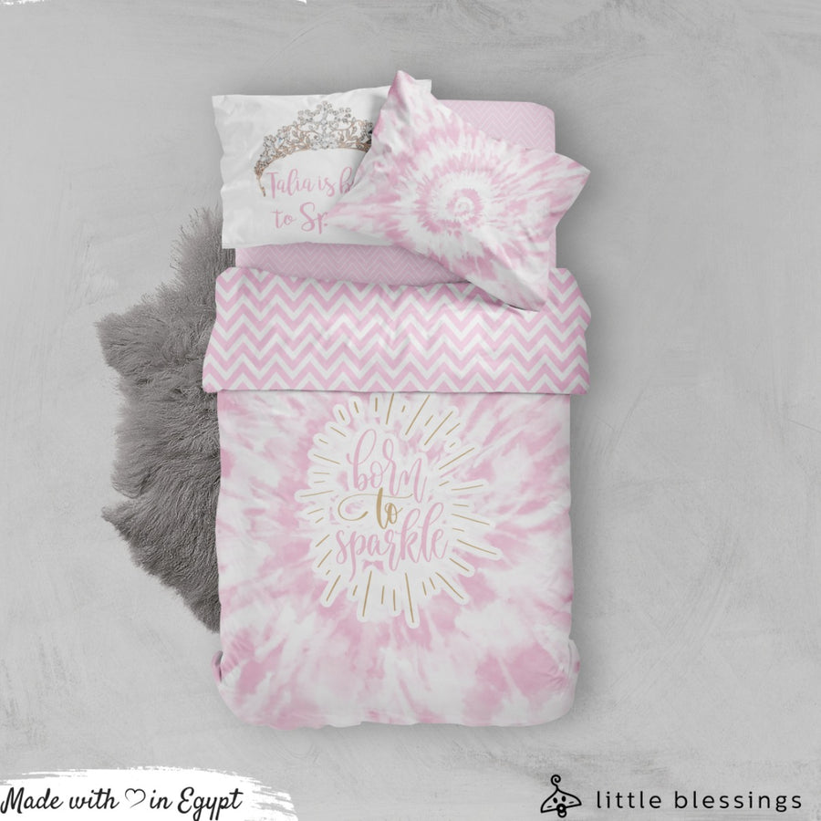 Born To Sparkle Bed Set