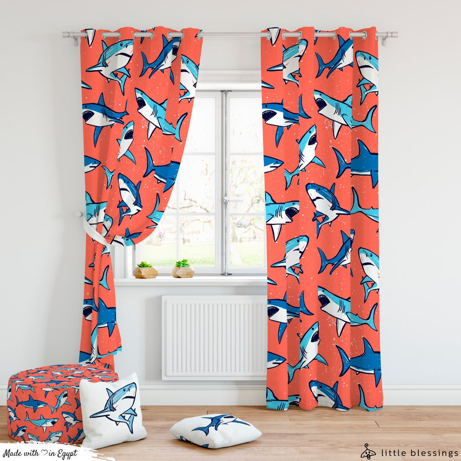 Sharks Curtain