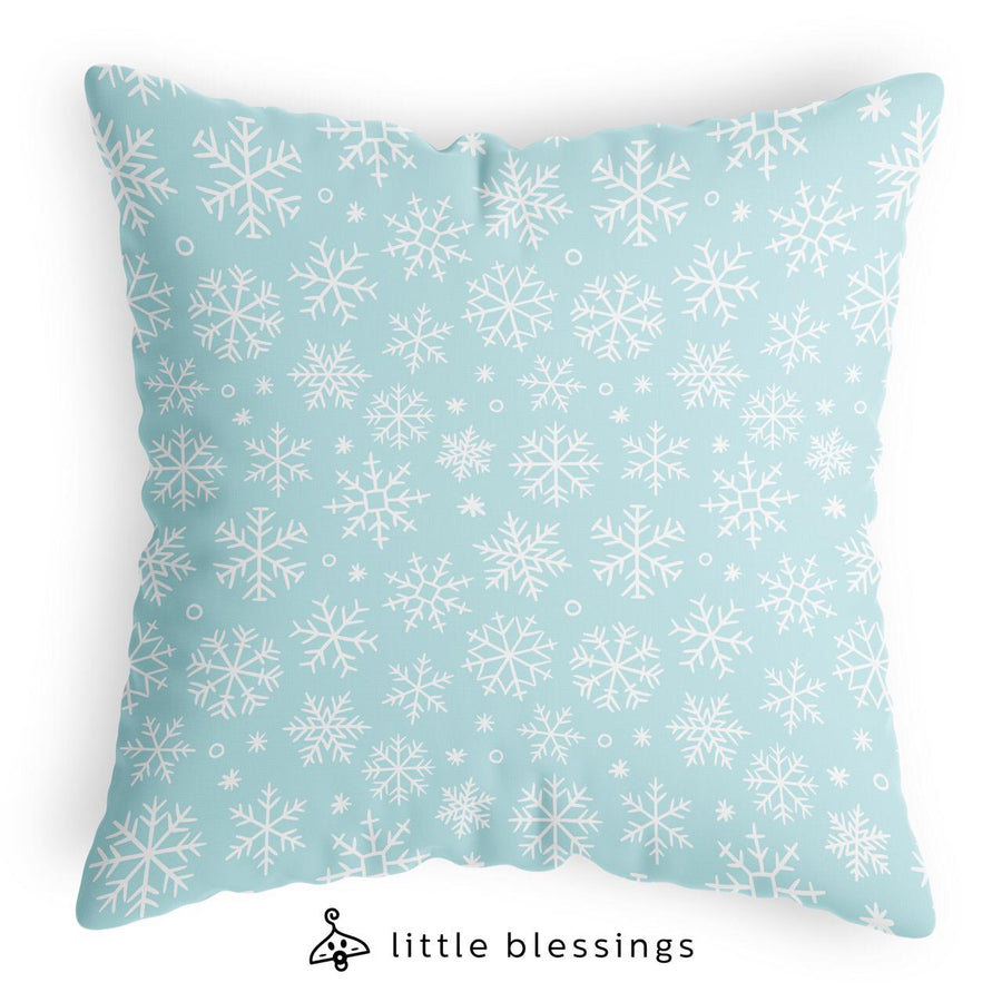 Snowflakes Pattern Cushion