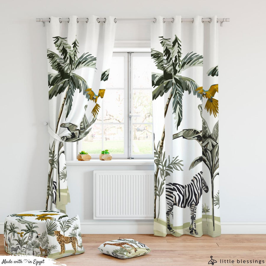 Safari Room Curtains