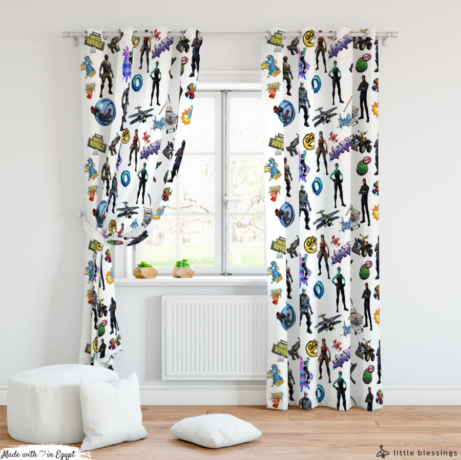 Fortnite 2 Room Curtains