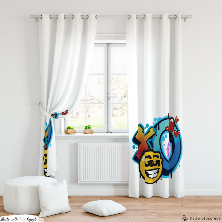 Fortnite 3 Room Curtains
