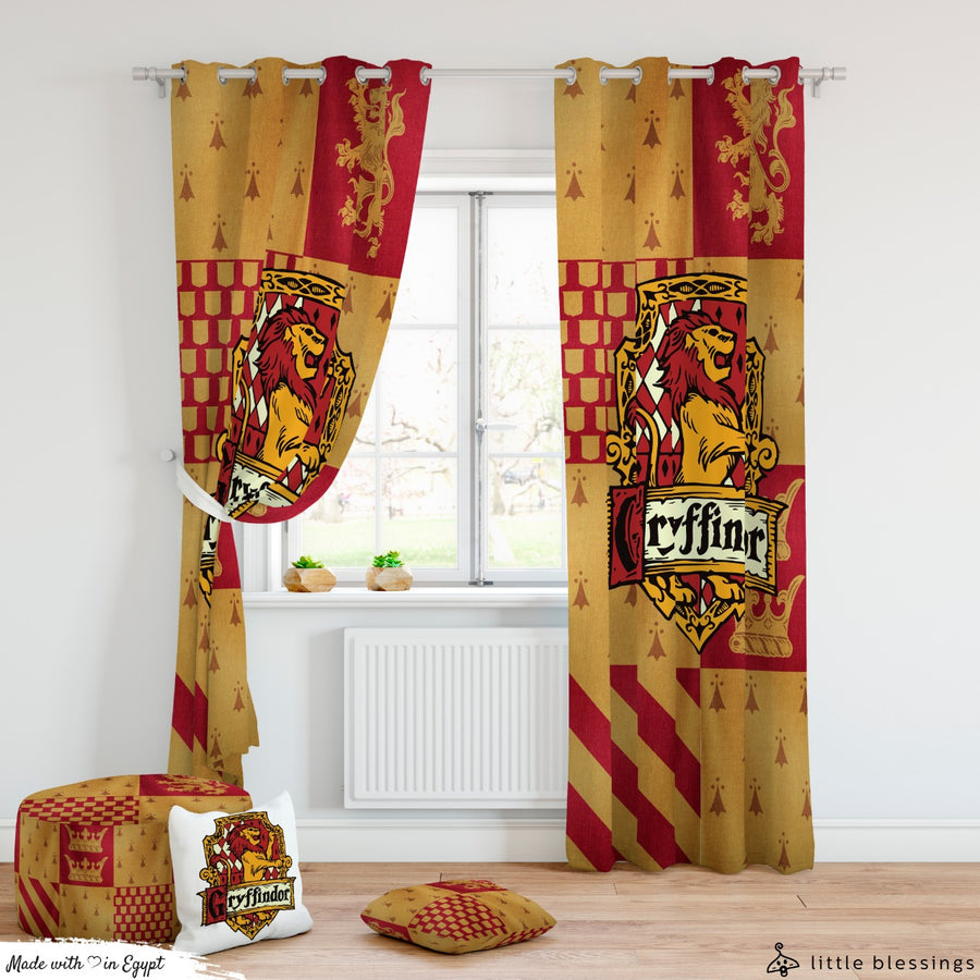 Harry Potter Gryffindor Curtains
