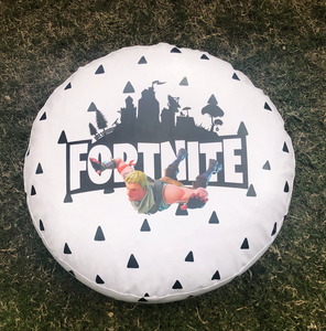 White Fortnite Puff