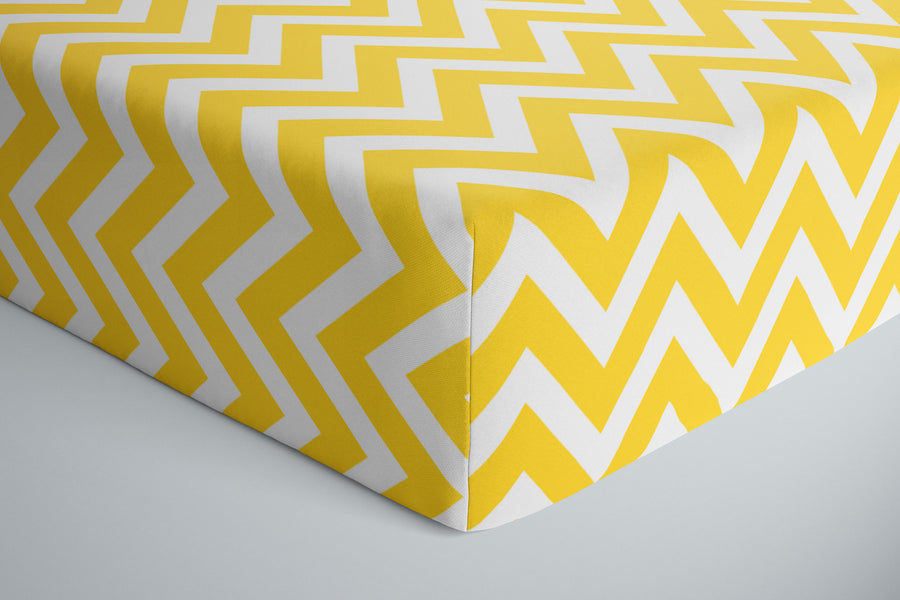 Chevron Baby Bed Sheets