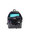 Mini Me Leather Backpack Two Tone Black/purple
