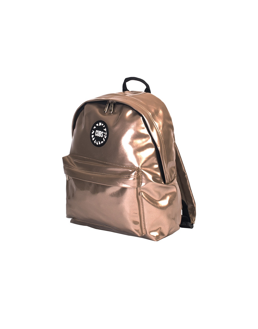 Mini Me Leather Backpack Brown