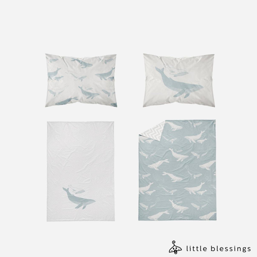 Ocean Waves Bed Set