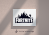 Fortnite New Chapter Canvas (Black Logo)