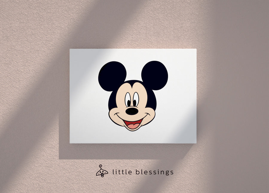 Mickey & Donald Canvas (Happy Mickey)