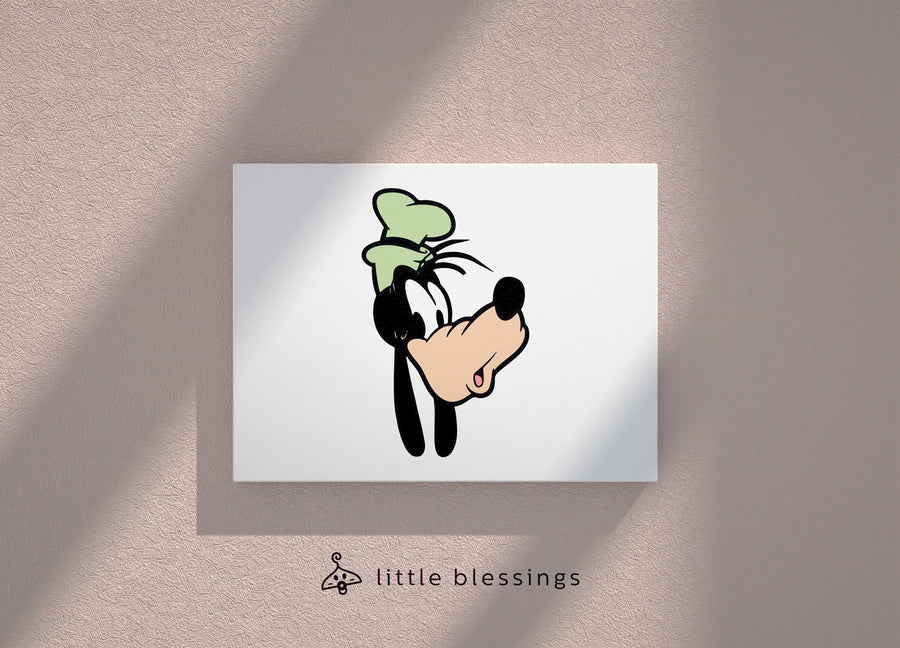 Mickey & Donald Canvas (Happy Goofy)