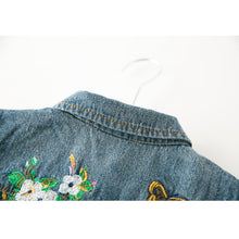 Denim Embroidery Jeans Jackets