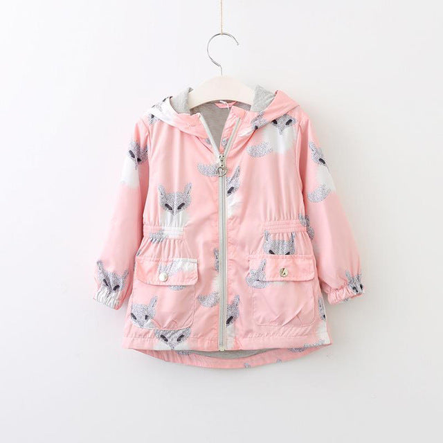 Hooded Jacket for Girls!