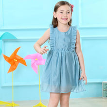 Princess Dress, Sleeveless Solid for Girls