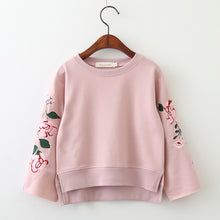 Flowers Embroidery Sweatshirt