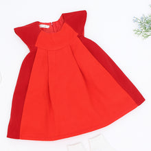 Lolita Style Stitching Ruched Dress For 3-7Y