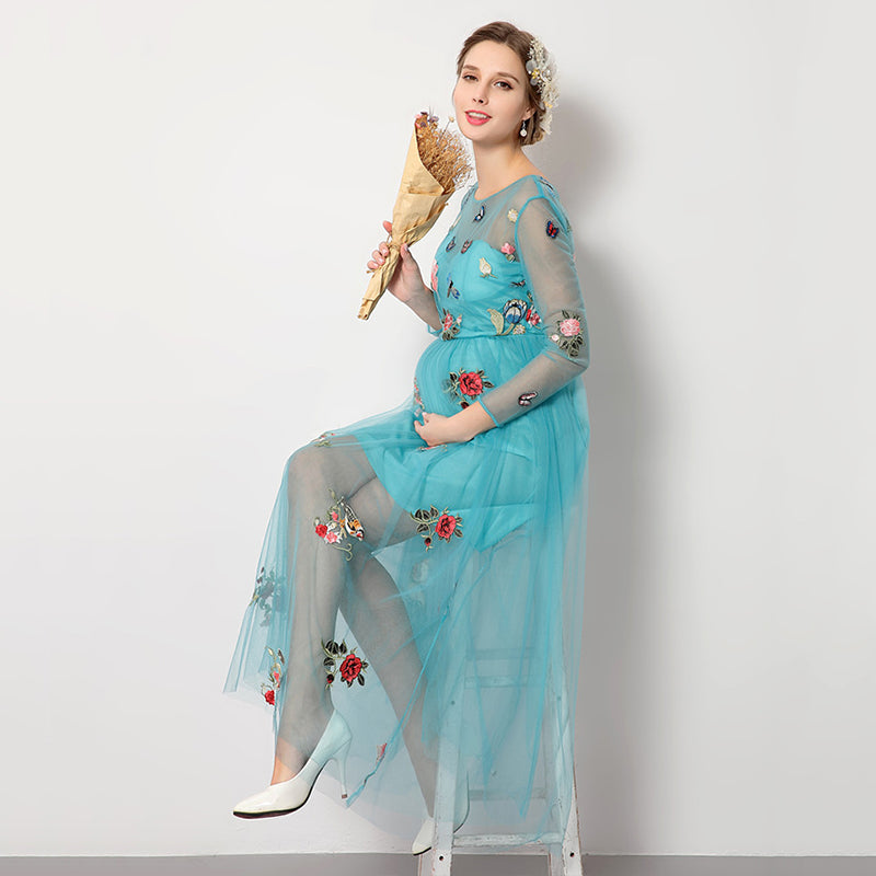 Party Pregnancy Dress For Mom