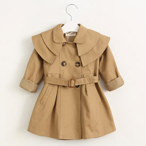 Long Sleeve, Waist belt Coat